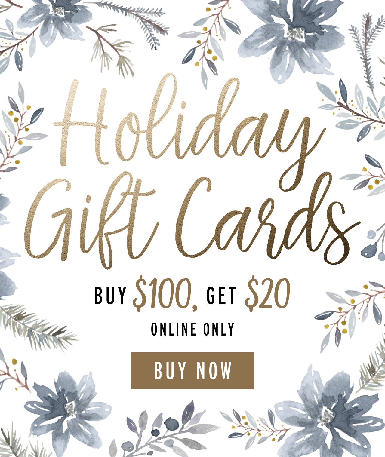 Holiday Gift Cards